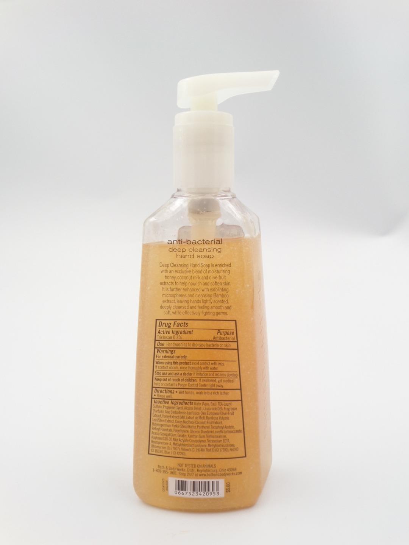 Bath & Body Works Anti-Bacterial Deep Cleansing Hand Soap 8 oz Orange Sapphire