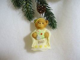 Cherished Teddies Ornament 2007 Dated Bell Tis The Season To Be Filled..... - $28.66