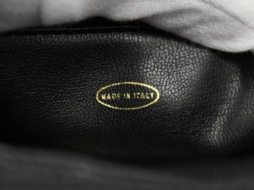 f0661806213d ... CHANEL Chain Tote Bag Triple CC Logo Black Caviar A03675 Italy Authentic  4731313 ...