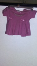 EXTREMELY CUTE LIGHT PINK SIZE 2T SHORT SLEEVE SHIRT TAC1017 - $1.00