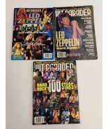 Hit Parader Magazine Salutes Led Zeppelin February 1995 and two other ma... - $12.19