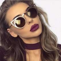 Cat Eye Metal Frames Women Sunglasses - $14.15