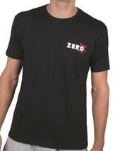 Zero Mens Black Dead On Arrival Skeleton Gun Revolver Skull Short-Sleeve T-Shirt image 2