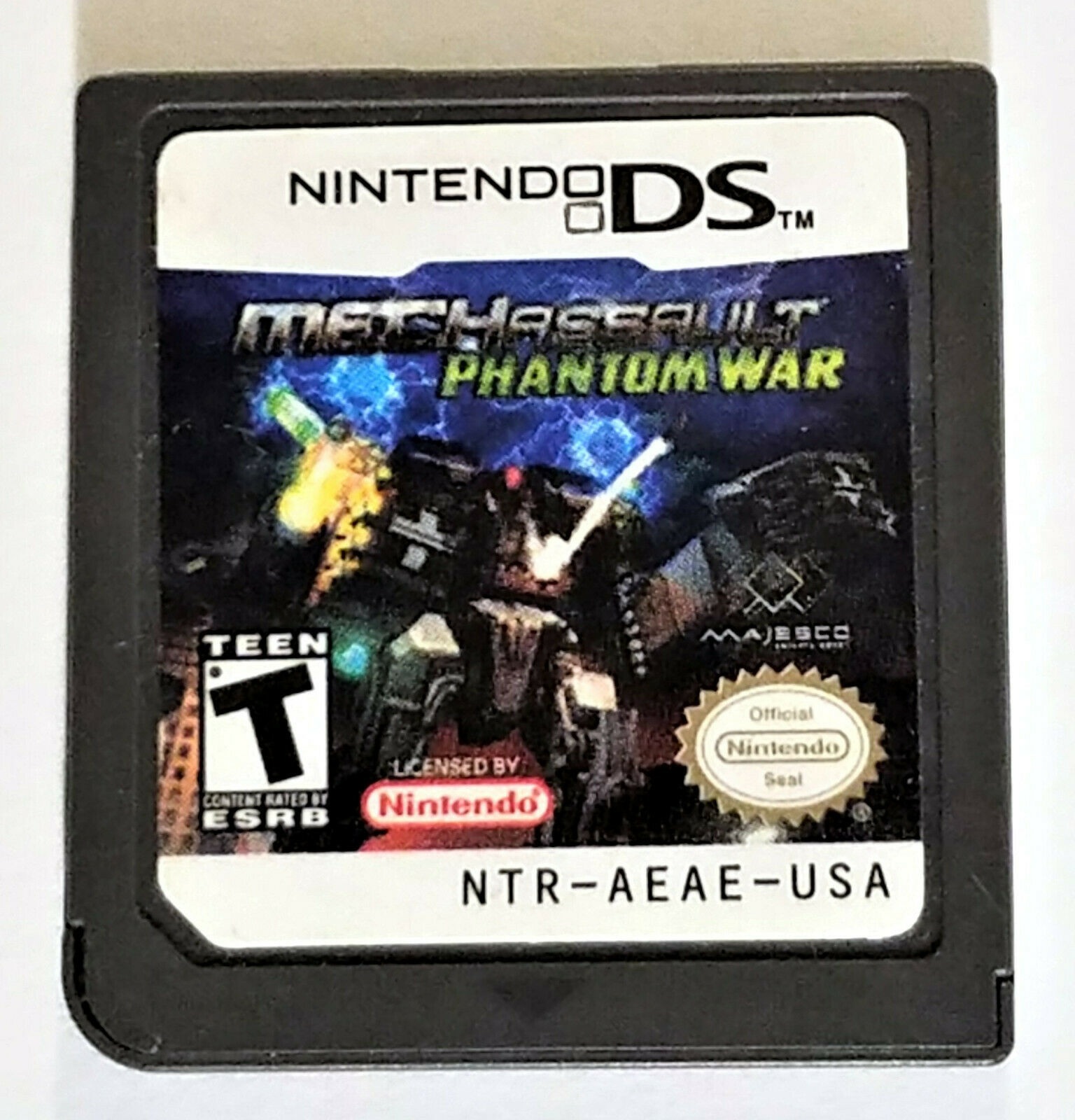 MechAssault: Phantom War Nintendo DS Game 2006 Cartridge Only
