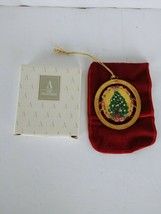 AVON CHRISTMAS 1995 COMMERATIVE ORNAMENT with bag & BOXED - $7.68