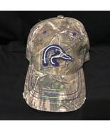 Ducks Unlimited Blue Logo Realtree Camo trucker baseball cap hat - $10.99