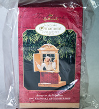 Hallmark Keepsake Membership Ornament 1997 Away to the Window NIB Never ... - $5.00