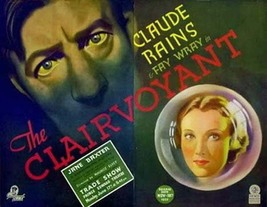 THE CLAIRVOYANT aka THE EVIL MIND (1935) - Mystery - Buy 2 DVD's, Get 1 ... - $7.49
