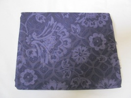 Deep Rich Blue Purple Large Scale Floral Quilting Fabric JoAnn Fabrics 1.5 Yards - $14.60