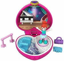 Polly Pocket Tiny Pocket Places Ballet Compact! Lila Doll - $5.42