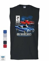 Ford Mustang Shelby GT500 Muscle Shirt American Classic Shelby Cobra Sleeveless - $12.63+