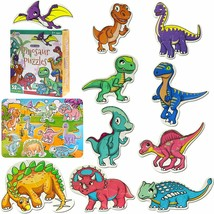 AIVANT Beginner Dinosaur Puzzles For Toddlers10 Different Animal  - $17.50