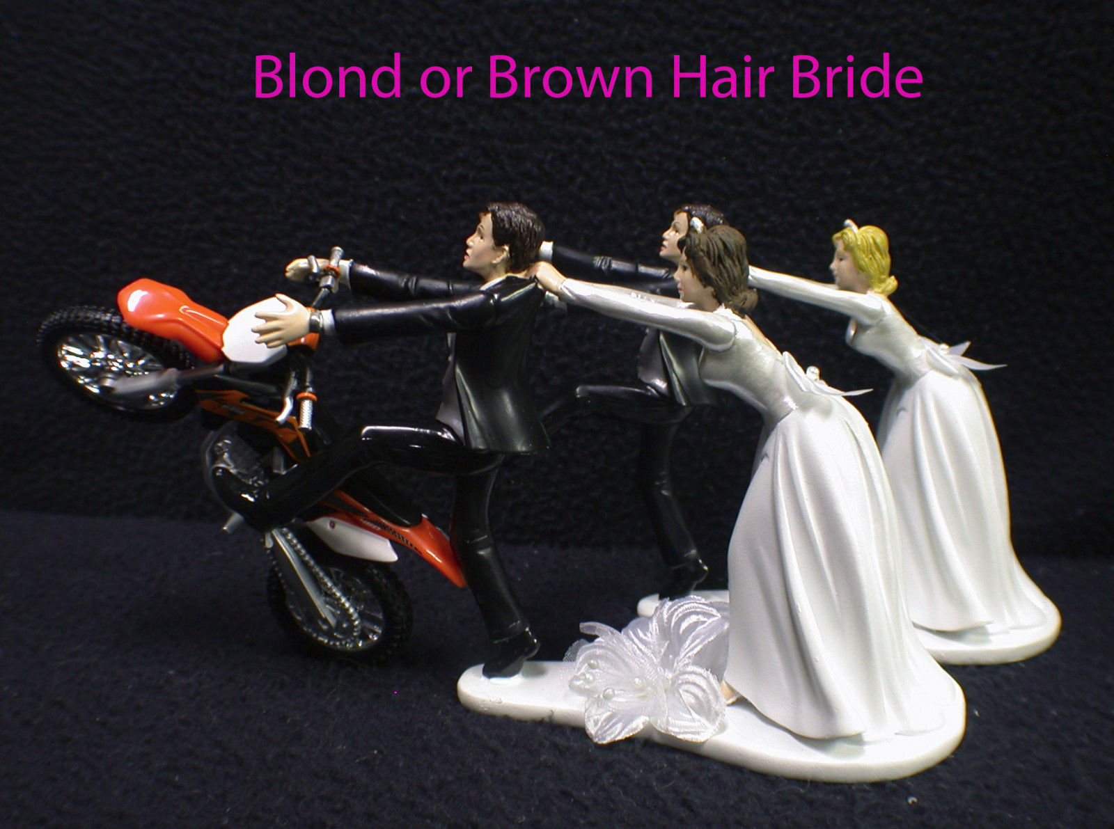 Motorcycle Wedding Cake Topper W Sexy Ktm And 50 Similar Items