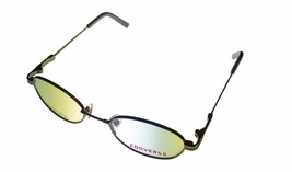 Converse Mens Ophthalmic Eyeglass Round Metal Live Wire Slate - $35.99