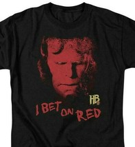 Hellboy II The Golden Army T Shirt I Bet On Red Dark Horse Comics tee UNI163 image 2