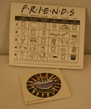 FRIENDS Trivia Game 2002 Coffee Cup Card Score Sheet Pad Replacement - $29.95