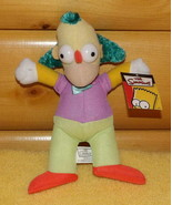 "Simpsons 9"" Plush Krusty the Clown Really Wants to Party - $6.49"