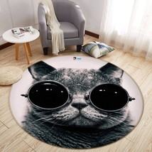 3D Car Image 0014 Non Slip Rug Mat Room Mat Round Elegant Carpet UK Carly - $106.68+