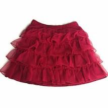 GAP Kids Girls Size XS Pink Tiered Skirt - $12.16