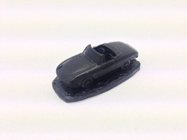 "Alfa Romeo Spider ""Round Tail"" ref1 Black 1:92 Scale Model Car Handmade - $8.12"