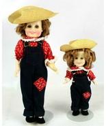 Vintage 1982 Ideal Shirley Temple Doll Rebecca Of Sunnybrook Farm 12 & 6... - $29.42