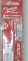 Milwaukee 48004093 Sawzall Blade 5 Pack Multi Material Blades image 2
