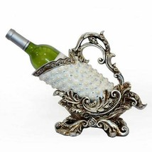 Hollywood Glam Single Bottle Table Top Wine Holder Carrier Home Bar/Dini... - £43.92 GBP