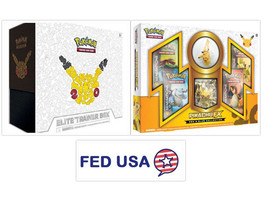 Pokemon TCG Generations Elite Trainer Box + Pikachu EX Red and Blue Collection - $195.00