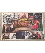 UGK Underground Kingz 2009 Promo Poster Autographed Lithograph Bun B  - $19.20