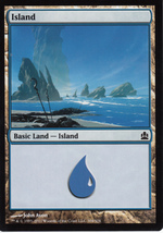 Magic The Gathering Island Card #121/249 - $0.99