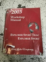 2003 Ford Explorer Sport Trac Service Shop Repair Manual OEM Worn - $29.68