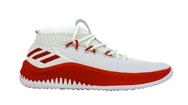 adidas Mens Dame 4 NBA Red White Basketball Shoes AC7270 Size 13.5  - $106.32 CAD