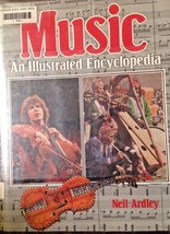 Book Music An Illustrated Encyclopedia Neil Ardley 1986 Hardcover - $12.92