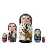 Veterinarian Veterinary Hospital Russian Wooden Nesting Doll Set 5 pc - $48.46