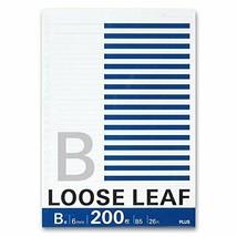 *Plus loose-leaf B5 B ruled 200 sheets NL-200B 76806 - $21.69 CAD