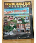 Charlie Daniels Band windows sheet music book 1982 Hat Band Music - $29.69