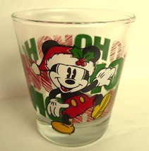 Christmas Mickey Mouse HO HO HO Highball Glass - $24.70