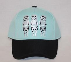 Adjustable Star Wars Baseball Cap Hat Blue Mint 1877 & Black One Size - $4.79