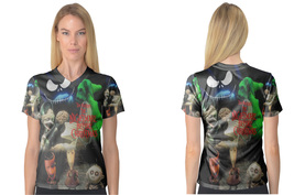 The Nightmare Before Christmas V-Neck Tee - €18,63 EUR+