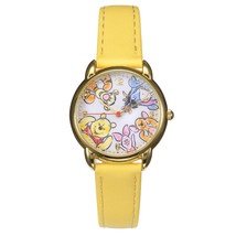 Disney Store Japan Pooh & Friends Hi! Wrist watch Honey Hunt Yellow acce... - $77.22