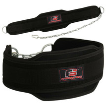 FIGHTSENSE Dipping Belt Chain Powerlifting Belt Gym Weight Lifting Fitne... - $121.76