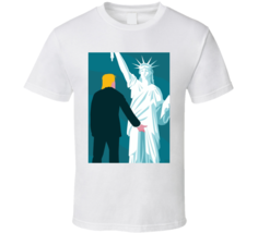 Donald Trump USA Statue of Liberty Funny President T Shirt - $21.99+