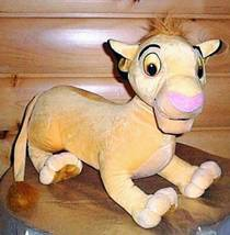 "BIG SALE BIG PLUSH Hasbro Disney 20"" LION KING Sweet SIMBA Wants Home WE... - $12.99"