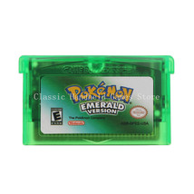 Pokemon Emerald Version GBA Game Boy Advance Reproduction Cartridge USA - $11.99