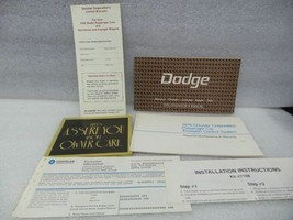 Dodge Monaco Charger Coronet Aspen Dart 1976 Owners Manual 16420 - $18.76