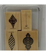 Stampin' Up! Tree Trimmings Wood Mounted Stamp Set - $9.60