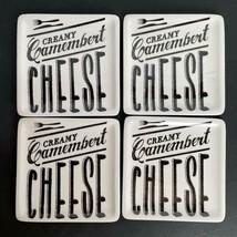 """4 Piece Set Ciroa Salle Des Fromages Porcelain 6"""" Porcelain Cheese Plates - $24.74"""