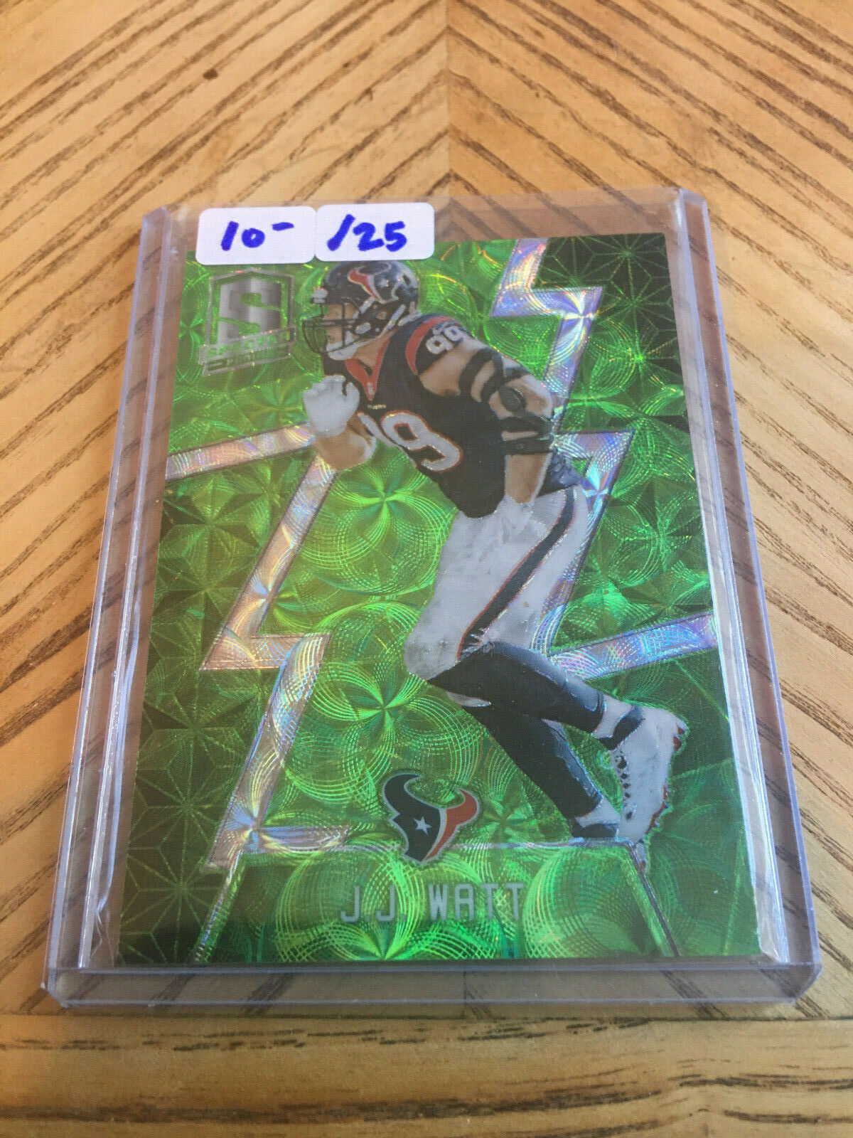 Primary image for 2016 Panini Spectra JJ Watt Neon Green Prizm /25