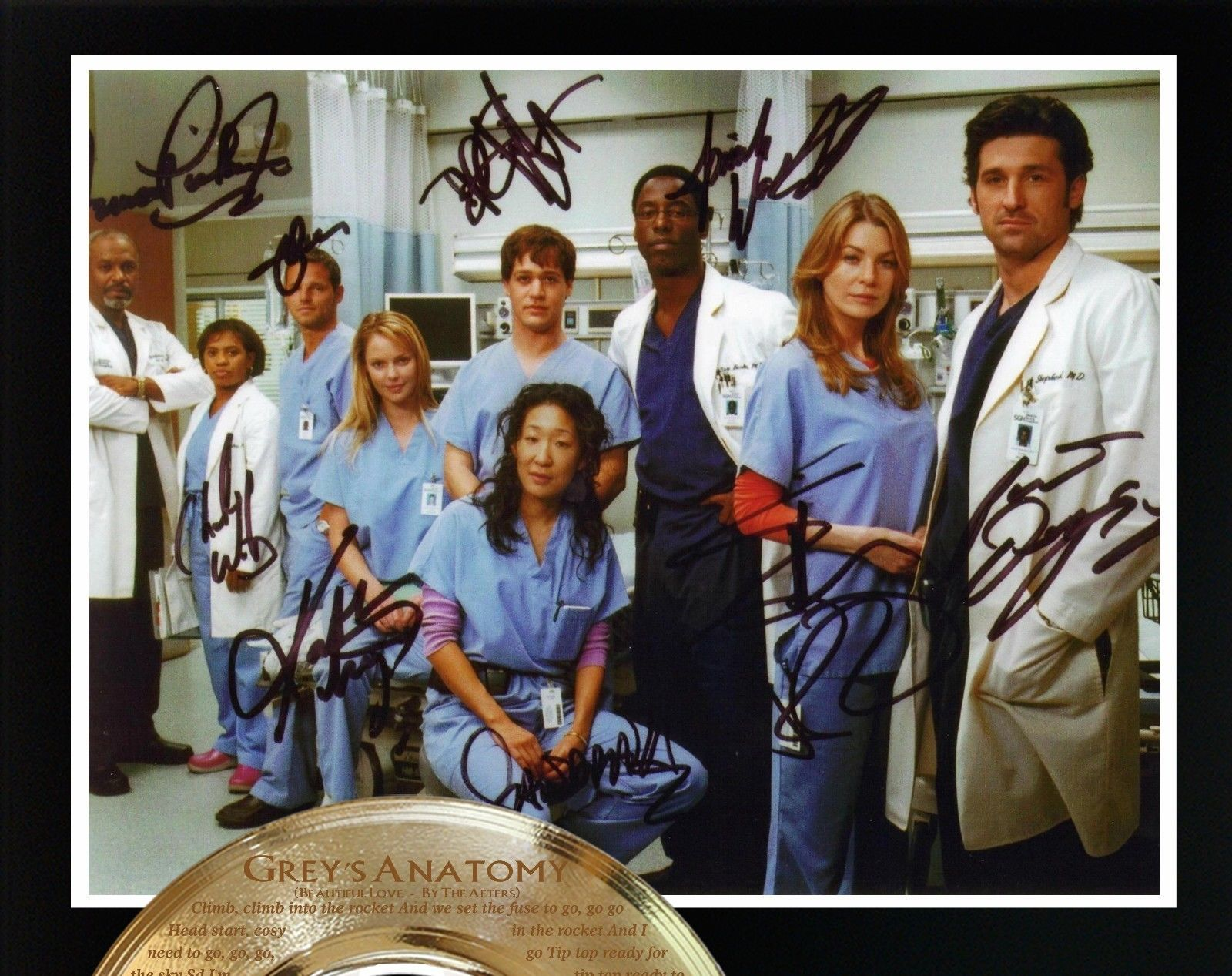 GREY'S ANATOMY LIMITED EDITION SIGNATURE AND THEME SONG ...