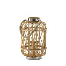 Medium Woven Rattan Candle Lantern - $40.52